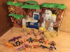 IMAGINEXT Gorilla Mountain KING KONG Jungle ANIMALS Lot w/ 14 figures SAFARI etc