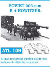 FRIULMODEL METAL TRACKS SOVIET 203 mm B4 HOWITZER Scala 1/35 Cod.ATL-109