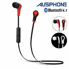 Bluetooth 4.1 Wireless Sweatproof Earbud Headset Headphone Earphone Sport iPhone