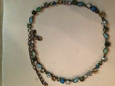 RETIRED SORRELLI MINT JULEP SPARKLING CRYSTAL NECKLACE, stunning! NWOT