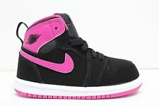 Nike Air Jordan Retro 1 High  Girls Toddlers Basketball Shoe Size 8c