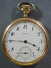 Antique E. Howard Keystone Series 9 GF Pocket Watch 16s 17j OF Checkerboard DMK