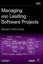 Managing and Leading Software Projects, Fairley, Richard E., New Book