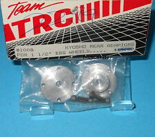 TRC 1008 Kyosho BBS Aluminum Rear Wheel Adapters Vintage RC Parts