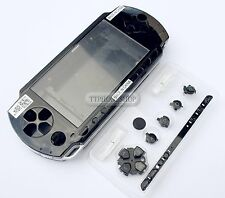 Black Housing Faceplate Case Cover for PSP 1000 Fat