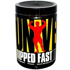 Universal Nutrition Ripped Fast 120 Capsules Fat Burner Weight Loss