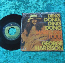 "Single 7"" George Harrison - Ding Dong, Ding Dong"