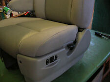 FORD OEM BUS DRIVERS SEAT BOTTOM COVER ONLY CAPTAIN CHAIR   *NEW TAKE-OFFS***