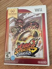 Mario Strikers Charged (Nintendo Wii, 2007) Complete Tested Works NG2