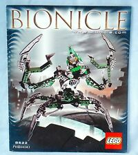 Lego Bionicle Warriors 8622 NIDHIKI the Dark Hunter - Complete 2004 set + Manual