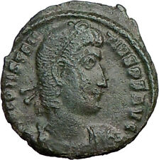 CONSTANTIUS II Constantine the Great son AE2 Ancient Roman Coin Horse i21369