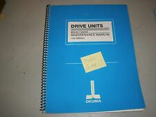 Okuma Drive Unit BL11-D/VAC111 Maintenance Manual