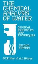 The Chemical Analysis of Water: General Principles and Techniques, Sec-ExLibrary
