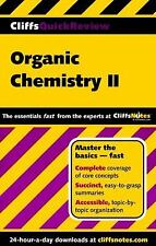 Organic Chemistry II (Cliffs Quick Review)