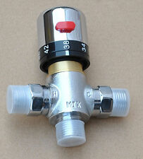 Thermostaic hot and cold water mixing t-adapter valve bidet spray shower Muslim