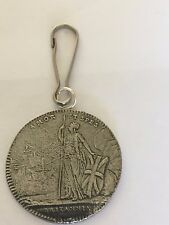 Charles Edward Stuart Coin WC39 Made From Fine English Pewter on a Zip Puller