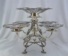 Superb Edwardian Sterling Silver Epergne James Dixon & Sons, Sheffield c.1908