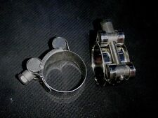 """2 PC STAINLESS 1 1/8"""" T- BOLT HOSE CLAMP HIGH STRENGTH O.D. #26-28TB"""