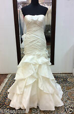 NEW Marys Moda Bella Bridal Gown Wedding Dress 3Y132 Ivory Fit Flare Mermaid 6