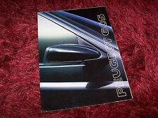 Catalogue / Brochure PEUGEOT 605 1990 //