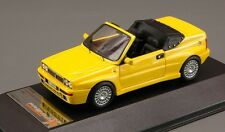 Lancia Delta Integrale Cabrio, Yellow 1992 Cars, Premium-X  PR0198  Resin  1/43
