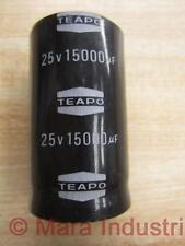 Teapo Capacitor 15000µF 25V - New No Box