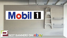 Mobil 1 Oil Workshop Garage Banner