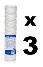 "3 x 10 micron string wound filter 10"",Bio-diesel,wvo vegetable oil filter!"