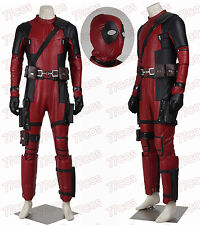 New Deadpool Cosplay Costume Outfit Full Set Wade Winston Costume Outfit
