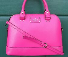 NWT Kate Spade Wellesley Small Rachelle Sweetheart Pink Handbag Bag NOT a Mini