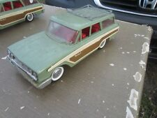 VITG GREEN Buddy L Ford Country Squire Station Wagon WORKING SUSPENSION AS IS  2
