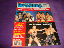 SPORTS REVIEW WRESTLING  summer 1983 don muraco/kabuki/andre the giant/ric flair