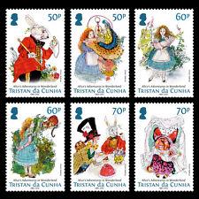 Tristan da Cunha 2015 Alice in Wonderland 6v set MNH