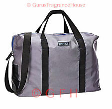 Gray GUESS Weekend Bag Duffle Bag Sport Gym Travel Bag For Men Womens GUESS Bag