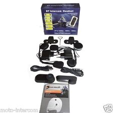 kit duo intercom moto 1000m