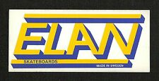 Original Elan Skateboards, Made in Sweden, Sticker