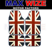 BMW Mini Cooper S 2001 - 2006 ULTIMATE UNION JACK CARPET CARPET CAR MATS