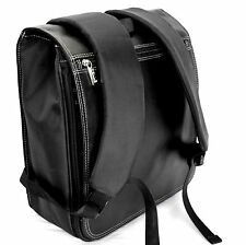 Wilsons Leather Backpack Womens or Men Black Shoulder Bag Tablet Metro Messenger