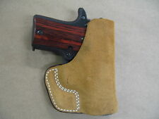 Sig Sauer 238 Sigarms P238 .380 Inside the Pocket Leather Concealment Holster