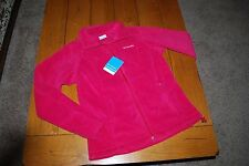 New with Tags Columbia Ladies Benton Springs Full-Zip Fleece Jacket Size Medium