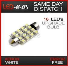 1x WHITE 16 SMD LED INTERIOR LIGHT BULB VAUXHALL ASTRA MK4 G 4 MK5 H 5