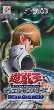 Japanese YUGIOH Kaiba Limited Edition #3 Booster Pack SEALED!