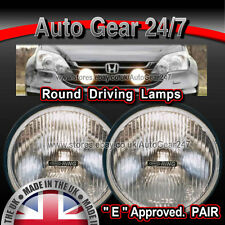 Car 4x4 Van Off Road Round Driving Halogen Lamps Lights Pair