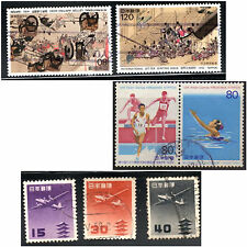 stamps JAPAN A1644(2) A1879(2) AP4(3) SETS LOT