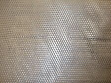 "Vinyl Upholstery Faux Leather Fabric Basket Weave Tile /Metallic Silver 54"" Wide"
