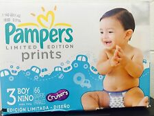Pampers Baby 3 boy - 66 Diapers- Very Economical - ** Clearance**