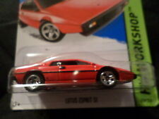 HW HOT WHEELS 2015 HW WORKSHOP #219/250 LOTUS ESPRIT S1 HOTWHEELS RED VHTF