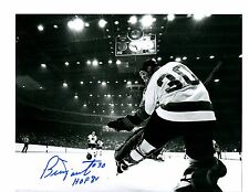 Bernie Parent Autographed 8 x 10 Photo Philadelphia Flyers
