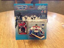 1999 STARTING LINEUP NHL Jeff Hackett Montreal Canadians Hockey Kenner SLU