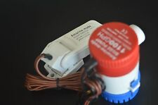 1100 GPH 12V Submersible Marine/Boat Bilge Pump with Float Switch Amarine-made